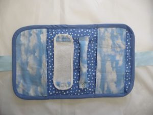 Travel Jewelry Case interior (Sewn By Tanya project review of Positively Splendid Travel Jewelry Case)