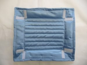 Unfolded travel tray (Sewn By Tanya project review - Angie's Bits 'N Pieces Travel Trays)