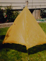 Front view Jones Tent 2 (Sewn By Tanya project review)