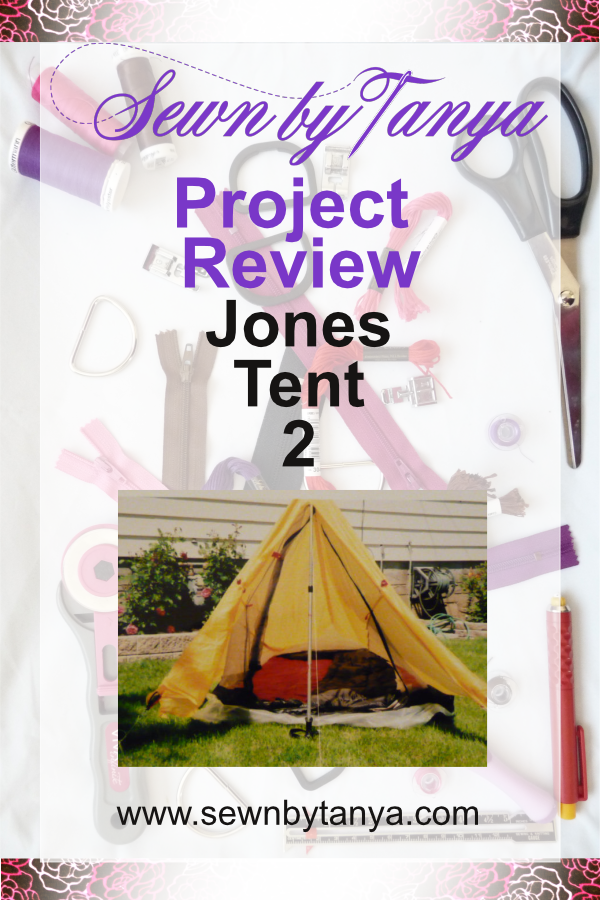 ewn By Tanya Project Review: Jones Tent 2