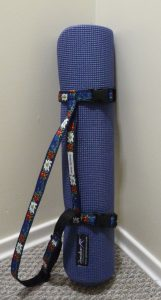 8 mm Pilates mat in the Yoga Mat Strap Wrap (Sewn By Tanya project review)