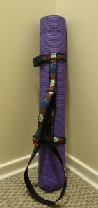 3 mm thick Yoga mat in the Yoga Mat Strap Wrap (Sewn By Tanya project review)
