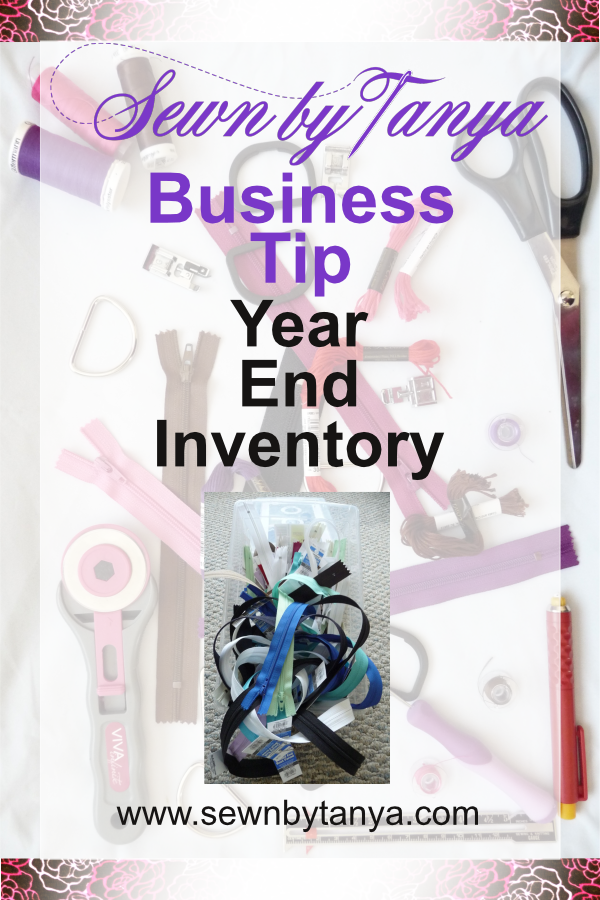 Sewn By Tanya Business Tip: Inventory Control Software