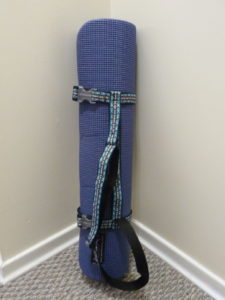 Yoga Mat Strap Wrap (Sewn By Tanya project review)