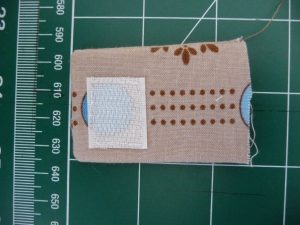 Finished tab for Custom iPod or Phone Case (project review by Sewn By Tanya)