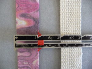 "Sewn by Tanya - Project Review - DIY Yoga Strap - 1"" webbing & 1"" fabric strip"