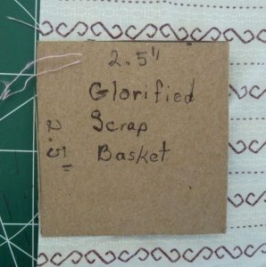 Sewn By Tanya   Project Review   Glorified Scrap Basket -SewSewMaria: template