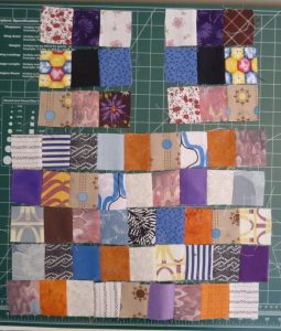 Sewn By Tanya   Project Review   Glorified Scrap Basket -SewSewMaria: aligning rows