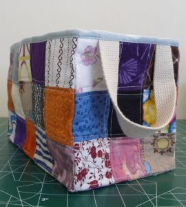Sewn By Tanya   Project Review   Glorified Scrap Basket -SewSewMaria