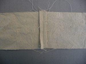 Sewn By Tanya Sewing Tutorial: No-Webbing Yoga Strap | seams pressed open