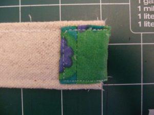 Sewn By Tanya Sewing Tutorial: No-Webbing Yoga Strap | finish bottom end