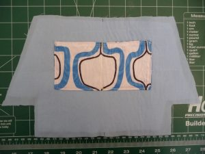 Interior peice with patch pocket