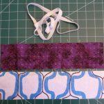 3 Fabric Bookmarks
