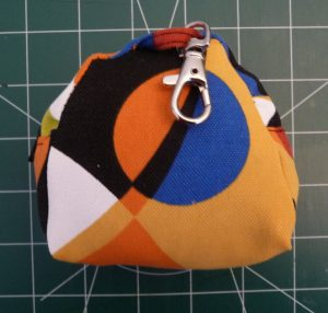 Back view of coin purse