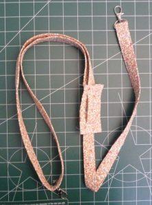 Completed bag strap
