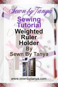 """Pinterest image for """"Sewn By Tanya Sewing tutorial 