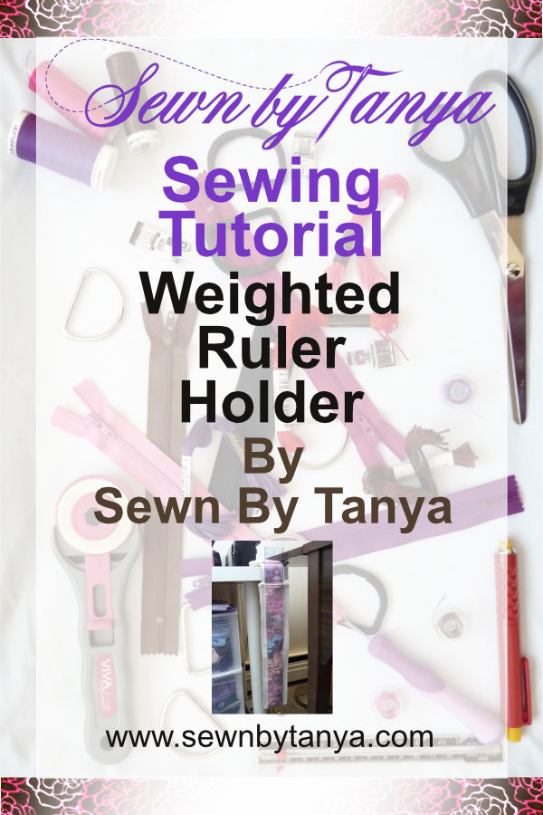 "Pinterest image for ""Sewn By Tanya Sewing tutorial 