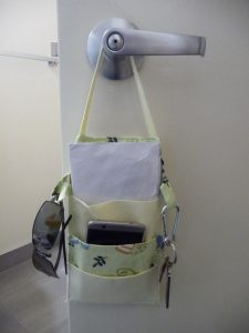 "PInterest image for ""Sewn By Tanya Project Review: Out The Door Organizer"""