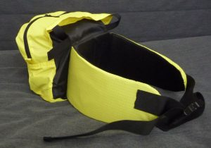 Yellow anjd black TH Lid lumbar pack