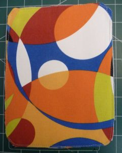 Multicolored rectangle with rounded corners